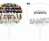 【欅坂46】「KEYABINGO!3」が6月29日発売!先着購入特典にうちわが!