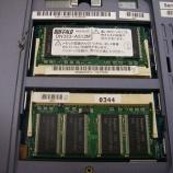 『SONY VAIO PCG-FR77G/Bのメモリースロットハンダ割れ修理』の画像