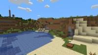 湖畔に佇む洞窟の家を作る