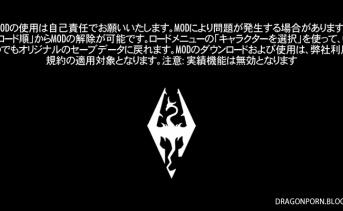 Skyrim Special Edition MOD導入ガイド