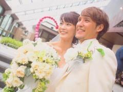【画像】結婚式を挙げた細貝夫妻が素敵すぎると話題!