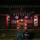 『上戸田氷川神社でお待ちしています』の画像