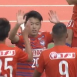 『[アルビレックス新潟] 完封勝利でホーム4連勝!! MF本間至恩が右足で先制ゴール!!』の画像