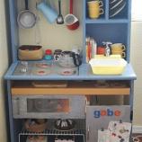 『みんなの作った手作り「ままごとキッチン」が凄すぎる! カラーボックス・ダンボール・棚リメイク 1/2』の画像