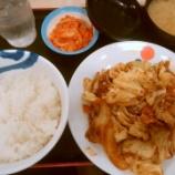 『松屋で新発売の回鍋肉定食を食べてきた!【株主優待】』の画像