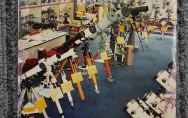 『懐かし望遠鏡シリーズ4:アトム横浜店店内2 2019/04/01』の画像