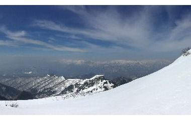 『日本百名山 雪の武尊山へ☆ラスト 武尊山山頂♪』の画像