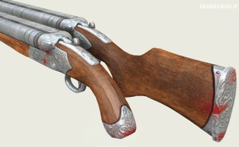 Double Barrel Shotgun - Antique Retexture
