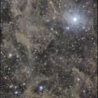 『北極星周辺の分子雲』の画像