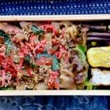 『豚肉スタミナ弁当』の画像