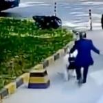 【動画】中国、新手の「当たり屋」が登場!今度の当たる標的は車ではなく「犬」! [海外]
