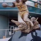 『ロサンゼルス旅行記8 ステイプルズ・センターの前にはマジック・ジョンソンの銅像があります』の画像