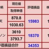 『【サイバーダイン下げきつい】10月4日 評価損益』の画像