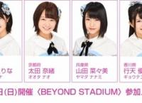 1/28開催「BEYOND STADIUM」チーム8参加メンバー発表!応募締め切りは1/17