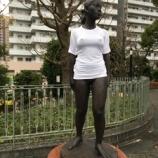 『裸体像Tシャツ計画 「裸のリン」川口西公園』の画像
