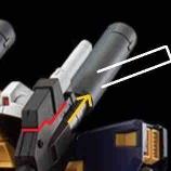 『【HGガンダム6号機(マドロック)】やっぱサーベルの位置おかしいよな』の画像