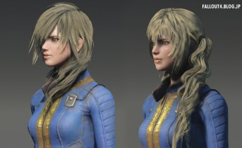 Fallout4 髪型・ひげ追加MOD『More Hairstyles for Male and Female』