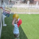 『バスケットリングのコーナーを作りました』の画像