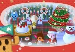 【ポケ森・画像あり】それではクリスマスの準備がほとんど完成したユーザーさんのキャンプ場をご覧くださいww