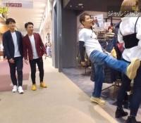 【乃木坂46】元メンバーのまいまいに続き、宮沢セイラが浜田雅功に蹴られるww