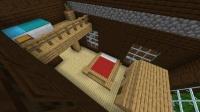 森の洋館リフォーム ~ ロフトにかかったベッドの寝室&苗木農場の部屋
