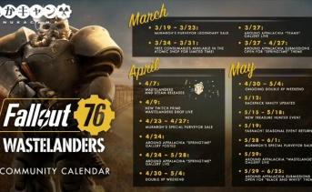 Fallout 76:『Bethesda Game Days』で公開されたコミュニティカレンダー