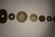 大掃除してたら古銭や外国のコインが出てきた