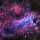 M17 オメガ星雲の中心部