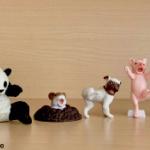 「動物が人間のように驚いた瞬間」がフィギュアになってガチャに登場!「驚愕動物」