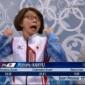 羽生選手が喜びのあまりおばさんになってしまいそれに驚く小林部...