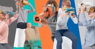 『Nintendo Labo: VR Kit』のプレイ映像含む紹介映像とTVCMが公開!