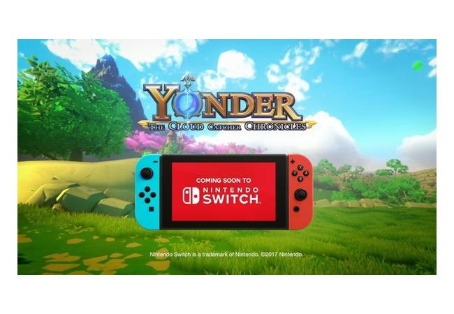 真のゼルダと言われた『Yonder』がSwitchで発売決定!!国内PS4版発売からわずか3週間