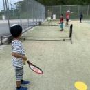 2019年10月19日(土)、名護ジュニアテニスクラブ・テニス教室の様子です。