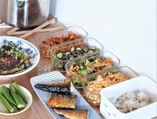 【家事貯金】ダイエット常備菜と&カロリーゼロのおやつ作り&暑苦しい愛犬達⁉