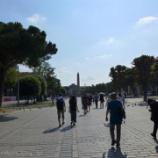 『トルコ旅行記23 思った程青くないけど美しいスルタン・アフメト・ジャーミィ(ブルーモスク)』の画像