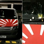 【韓国】ニュージーランド在住の韓国人が「旭日旗」と勘違いし生卵投げつける! [海外]
