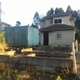 『東金市極楽寺 建築途上で放棄された建売住宅』の画像