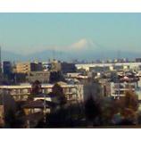 『ホームから見える富士』の画像