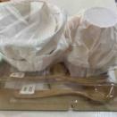 食洗機可な天然木製の汁椀を買いました!