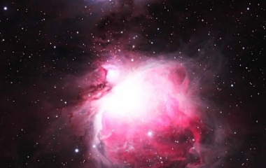 『オリオン座の大星雲(M42)』の画像