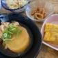 豚バラ大根定食¥1000です〜(*^◯^*) 小鉢とお味噌汁...