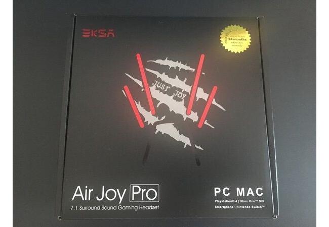 【管理人レビュー】EKSA『AirJoy Pro』ヘッドセットを使ってみた感想