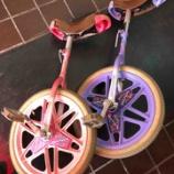 『一輪車の修理』の画像