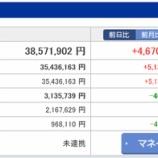 『【運用状況】2016年10月の資産総額は3857万円でした』の画像