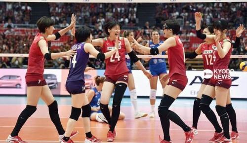 【バレー女子W杯】日本が世界1位のセルビアに0-2から逆転勝ち(海外の反応)