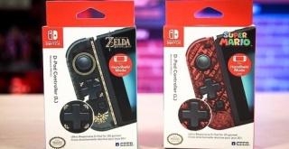 ホリ「Switch 十字コン」、『ゼルダ』『マリオ』の新デザインが登場!