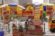 彡(°)(°)「アメリカのメトロポリタン美術館前でホットドッグ売ったろ!」