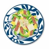 『胃ろうで、蕎麦とゴーヤチャンプルー 』の画像