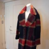 『ottod'Ame(オットダム)タータンチェックコート』の画像