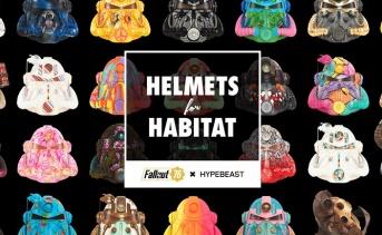 『Fallout 76』T-51パワーアーマーのデザインヘルメットを販売するチャリティー企画